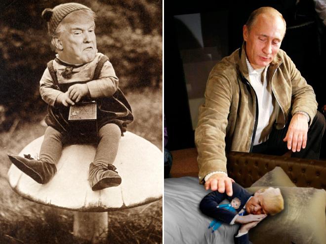 Isn't little Donald adorable?