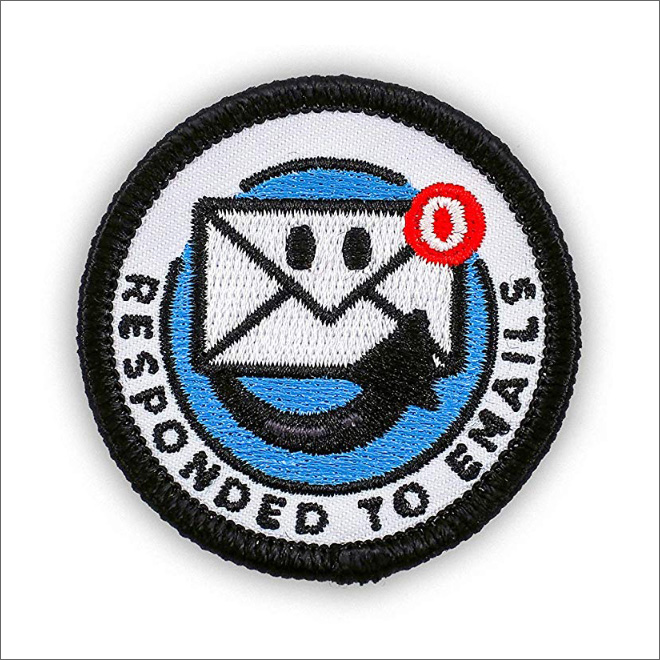 Merit badge for an adult.