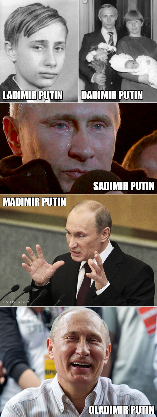 Not all Putins are the same. Have you met them all?