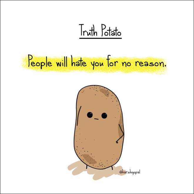 Harsh truth.