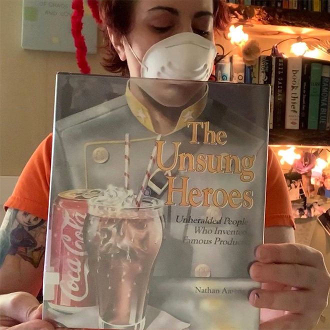 When book readers get bored during quarantine...