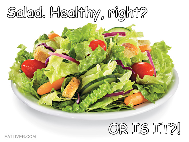 The truth behind salad.