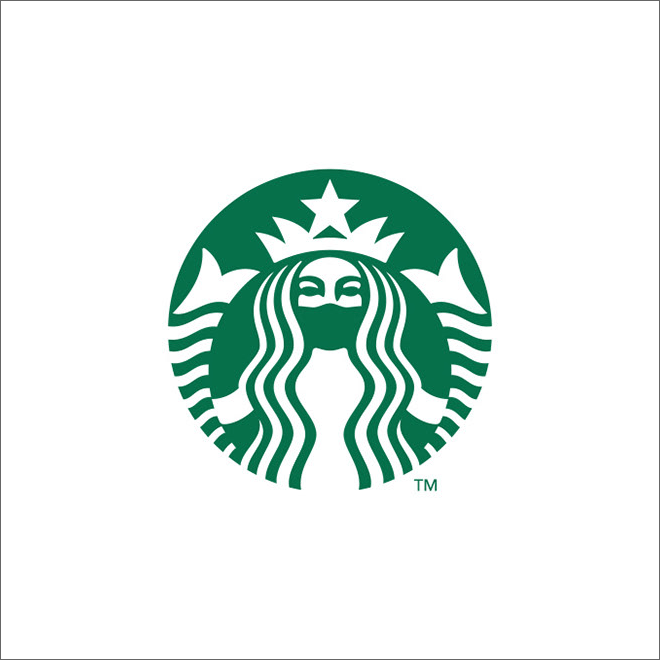 COVID-19 logo redesign.