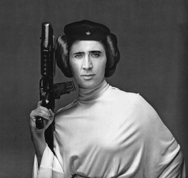 When Nicolas Cage meets Photoshop...