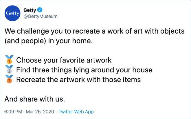 Art recreation challenge.