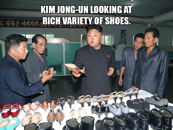 Great leader looking at things.