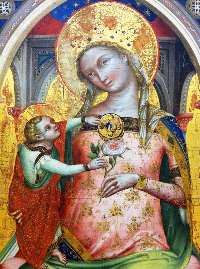 Some renaissance era artists were terrible at drawing babies.