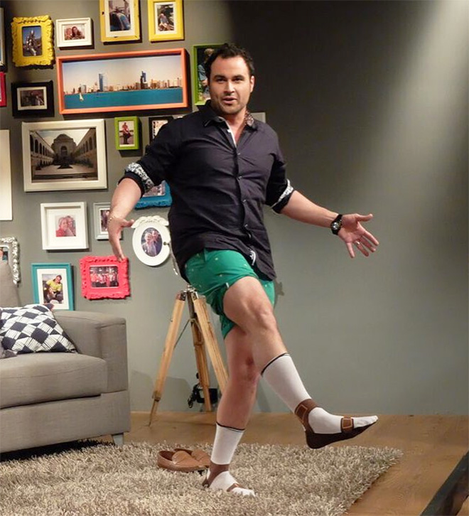Sandal socks? Sock sandals? Why not!