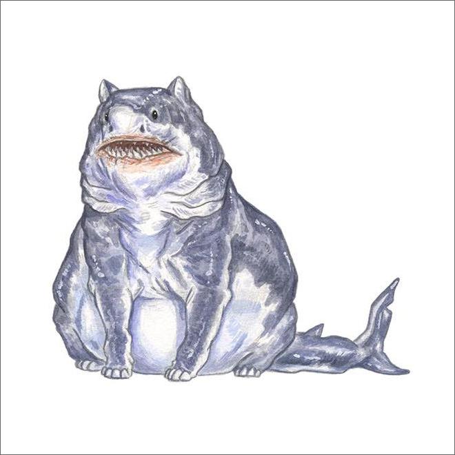 Cats + sharks = sharts.