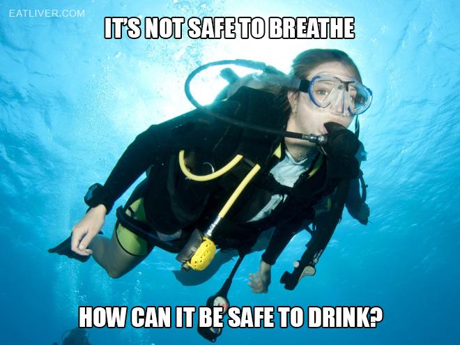 Dihydrogen monoxide is poison!