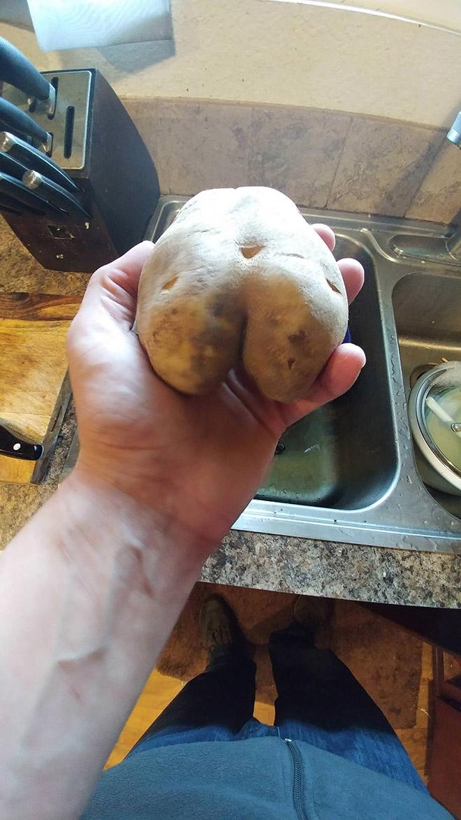Beautiful potato butt.