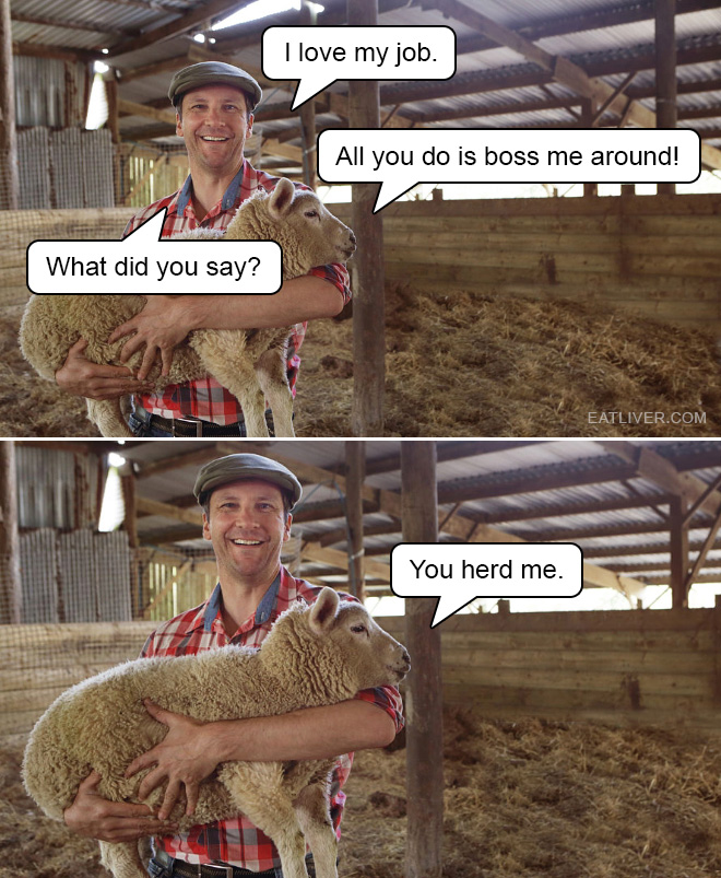 Farmer puns are the best puns.