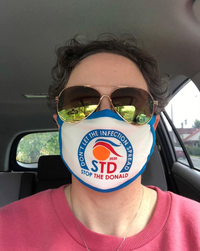 Americans fighting against STD.