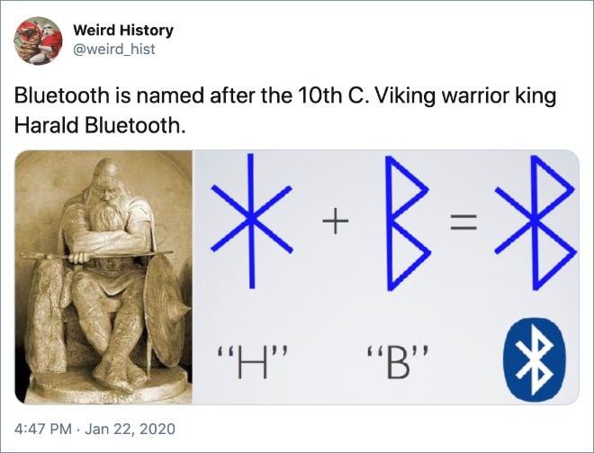 Interesting historical fact.