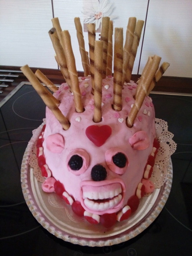 Would you eat this hedgehog cake?