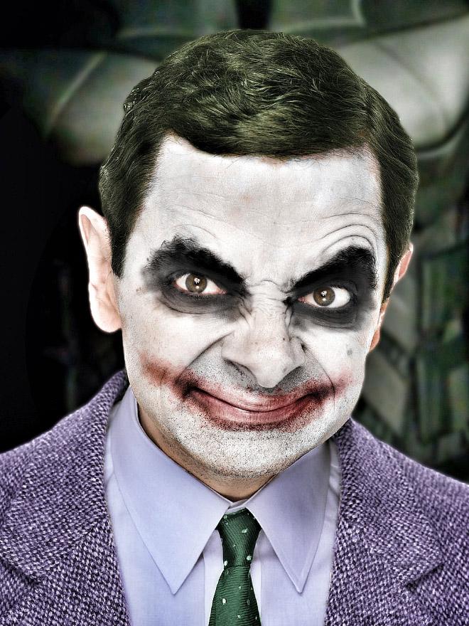 When Mr. Bean meets Photoshop...