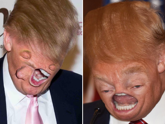 When Donald meets Photoshop...