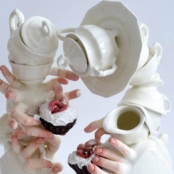 Alive ceramics that can bite back.