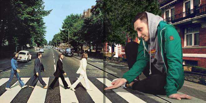 What's happening outside album covers? Have you ever wondered?