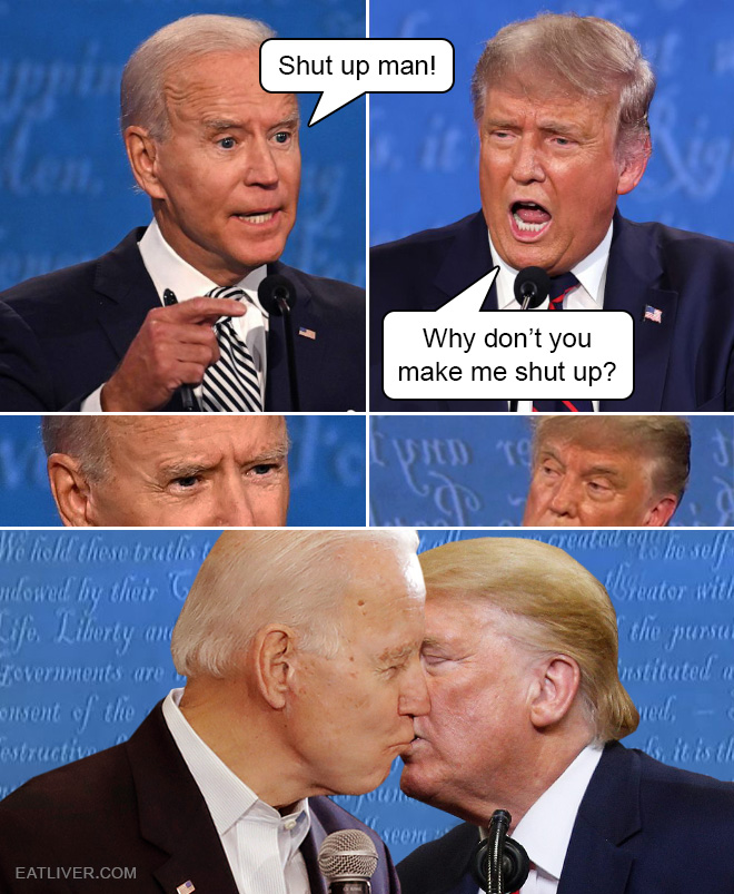 Shut up man!