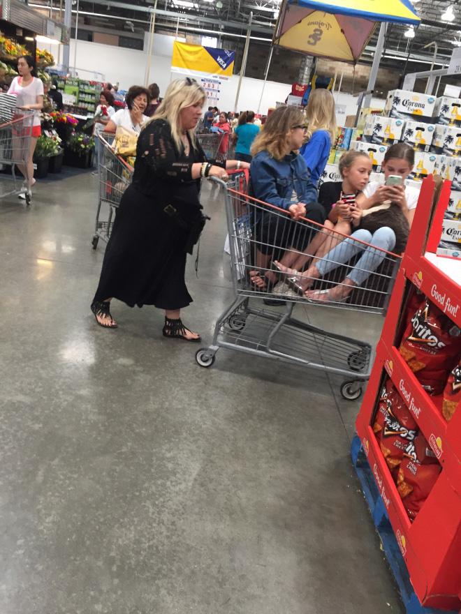 Crazy Walmartians enjoying their shopping.