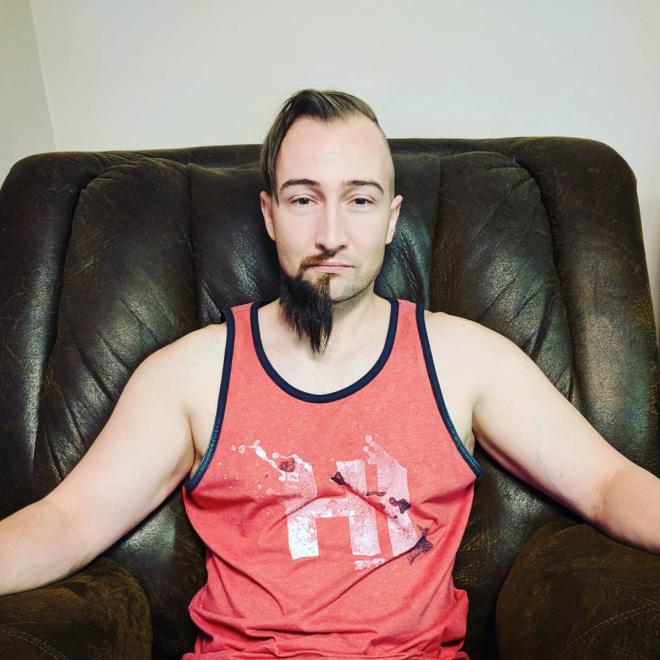 Half beard is a real male fashion trend.