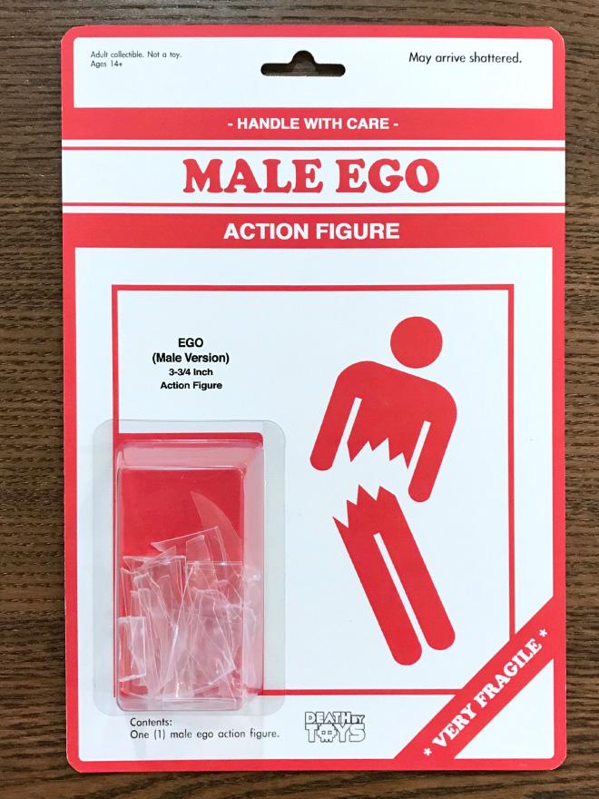 Really weird action figure.