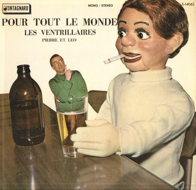 Creepy vintage album cover.
