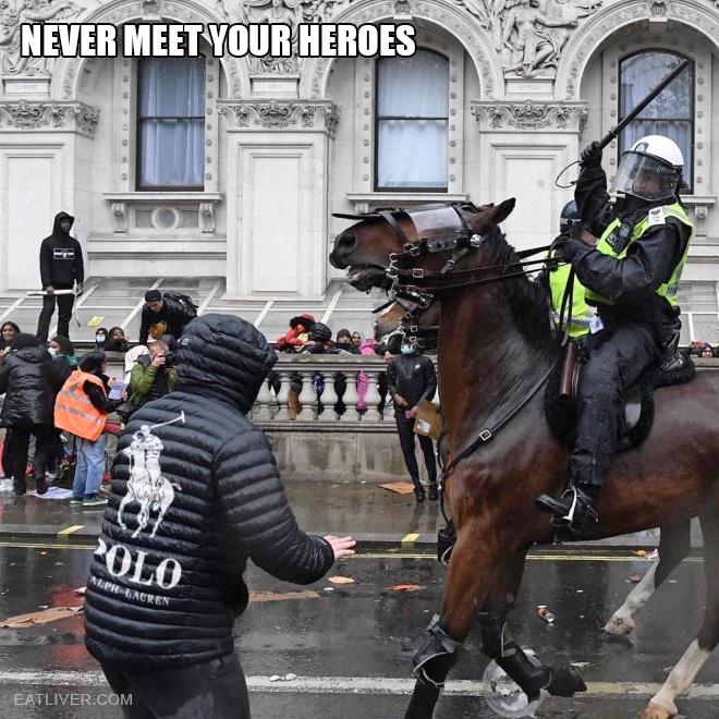 Never meet your heroes!