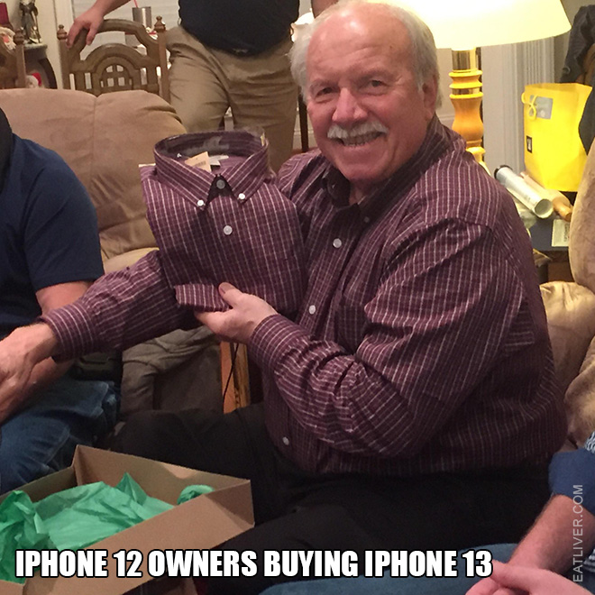 iPhone 12 owners buying iPhone 13